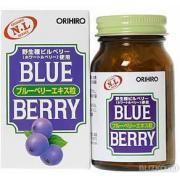 Витамины для глаз Orihiro черника со звездной очанкой