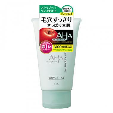 BCL AHA Wash Cleansing Пена скраб с aha кислотами