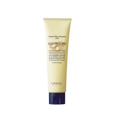 Натуральная питательная маска для волос LebeL Egg Protein