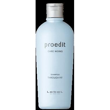 Lebel Proedit Through Fit Shampoo Питательный разглаживающий шампунь