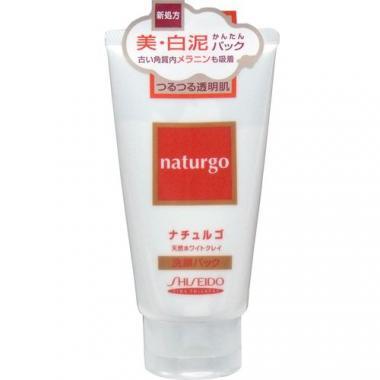 SHISEIDO NATURGO Маска для лица с белой глиной