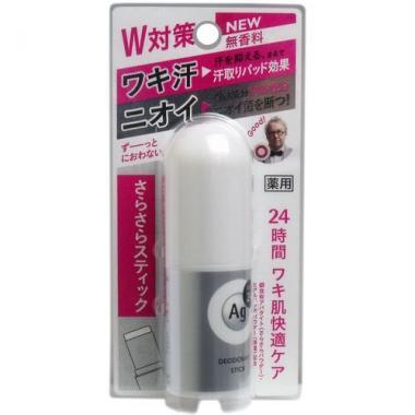 SHISEIDO AG DEO24 Дезодорант-стик с ионами серебра
