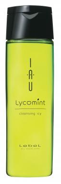 LebeL IAU Lycomint cleansing icy Шампунь Охлаждающий антиоксидантный