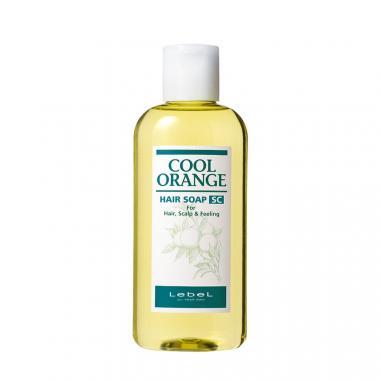 LEBEL COOL ORANGE HAIR SOAP SUPER COOL Шампунь для волос и кожи головы