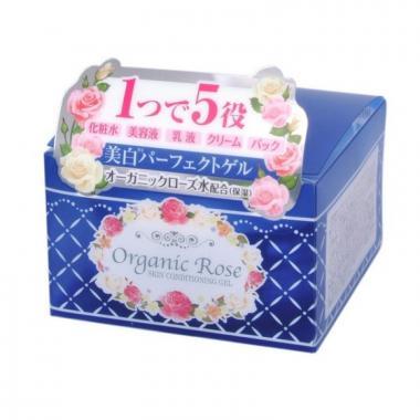 Meishoku Organic Rose Гель-кондиционер увлажняющий 5 в 1