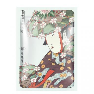 Mitomo Маска для лица Алое и Цветы Сакуры
