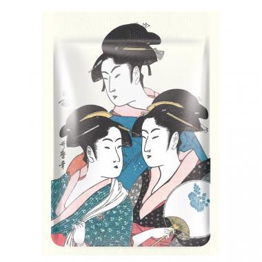 Mitomo Маска для лица Золото и Цветы Сакуры