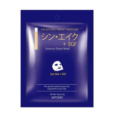 Mitomo маска для лица Яд змеи + EGF