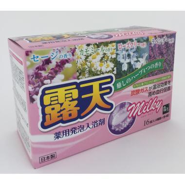 Молочная Соль для ванны Целебные травы