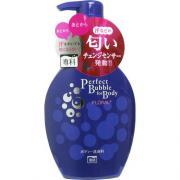 SHISEIDO SENKA PERFECT BUBBLE  Дезодорирующий гель для душа 500мл