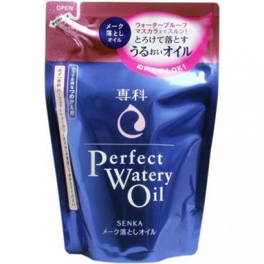 SHISEIDO SENKA Perfect Watery Oil Гидрофильное масло для снятия макияжа