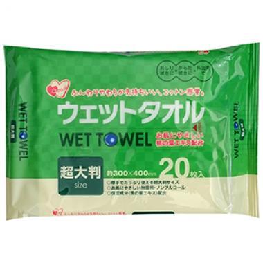 Влажные полотенца для рук и тела Wet Towel Showa Shiko